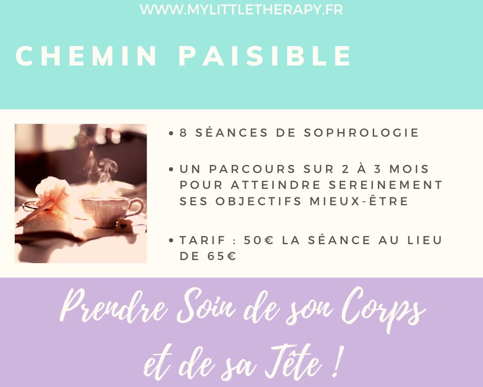 Chemin Paisible - 8 séances de Sophrologie