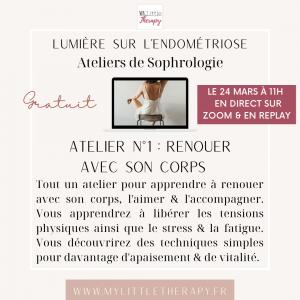 Atelier Sophrologie endométriose